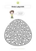 arbeitsblatt apfel labyrinth. Black Bedroom Furniture Sets. Home Design Ideas