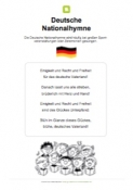 WM 2018 - Deutsche Nationalhymne