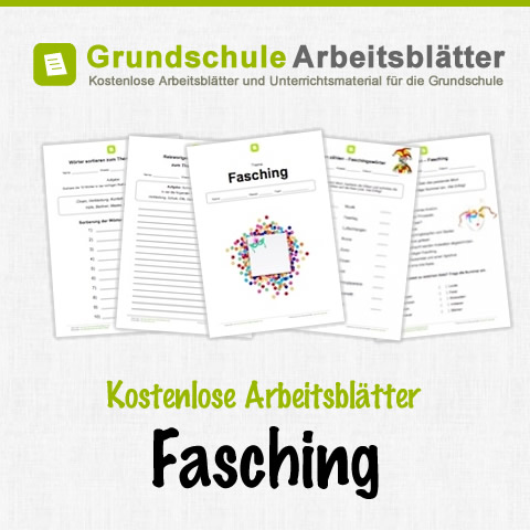 fasching arbeitsblatter kindergarten. Black Bedroom Furniture Sets. Home Design Ideas