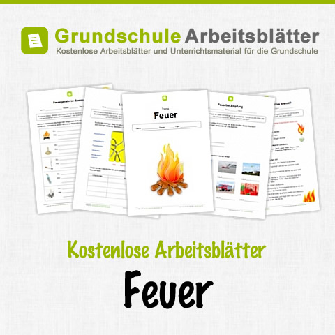 feuer kostenlose arbeitsbl tter. Black Bedroom Furniture Sets. Home Design Ideas