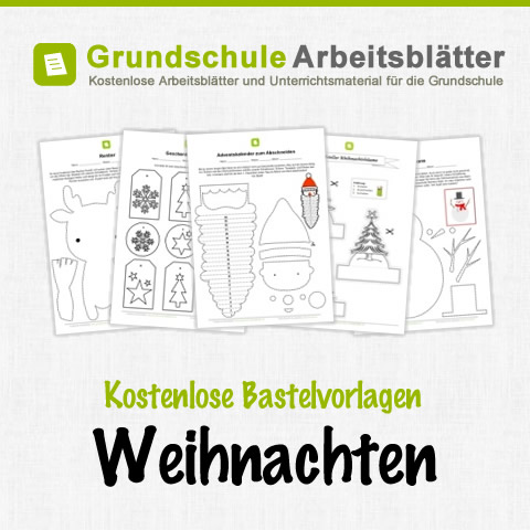 bastelvorlagen weihnachten f r kinder kostenlose a. Black Bedroom Furniture Sets. Home Design Ideas